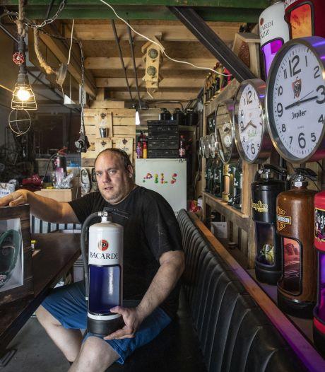 Spullen voor je mancave koop je bij de Keienkearsl in Haaksbergen: 'Biertje erbij en wéér een idee!'