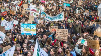 Nederlandse klimaatspijbelaars gaan op gesprek bij premier Rutte om te praten over klimaatbeleid
