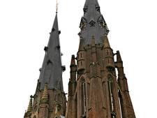 De Catharinakerk bovenop een toren in Eindhoven, waarom niet?