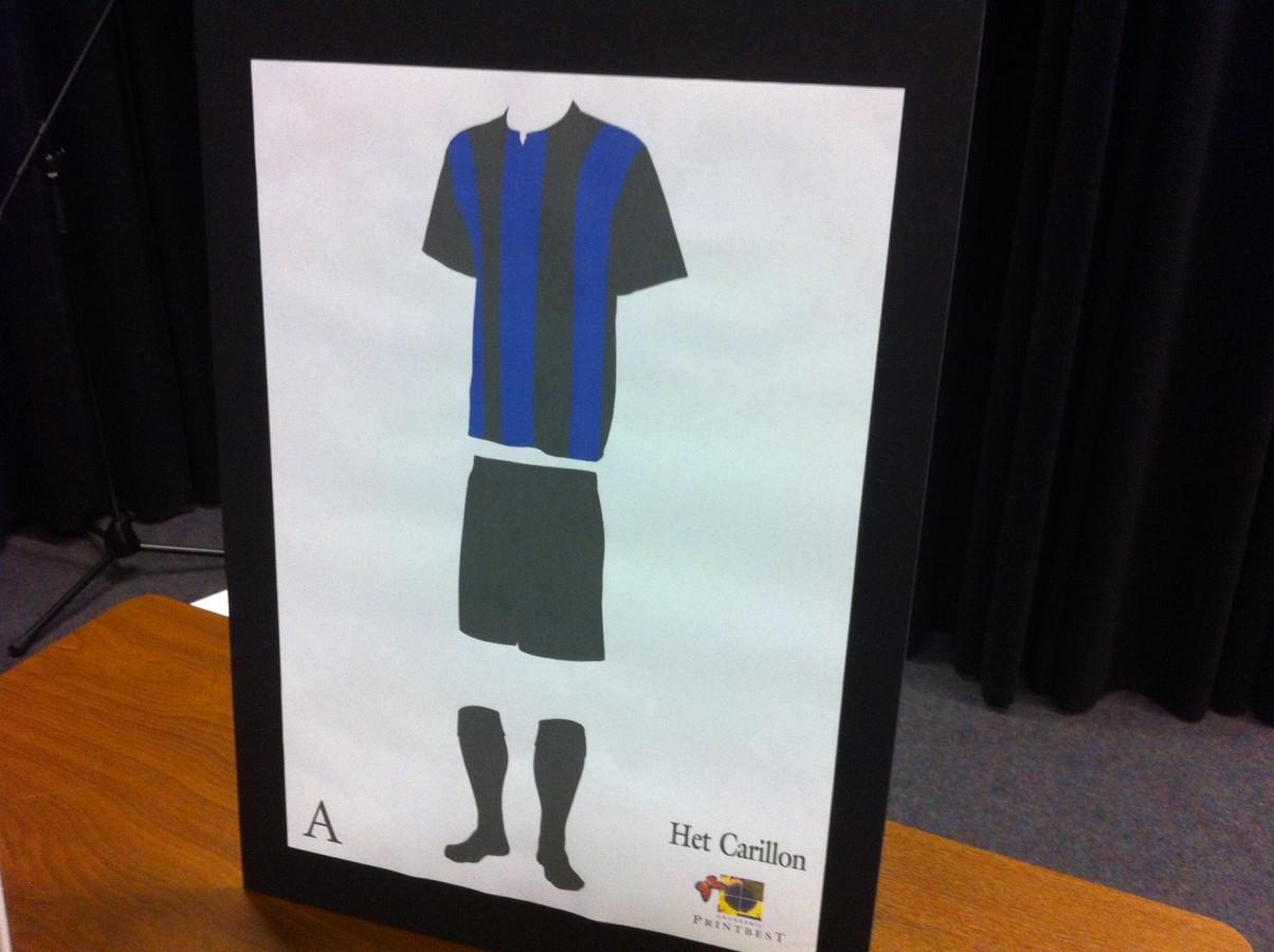 Het tenue van de nieuwe fusieclub HRC'14.