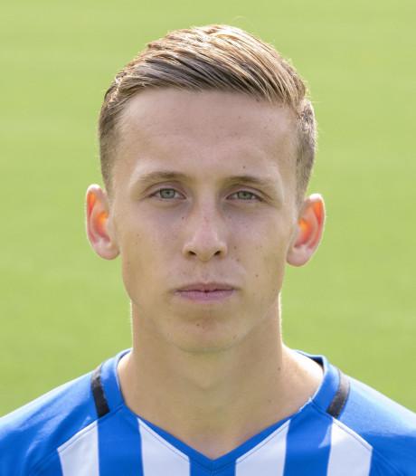 Luc van Run van Jong FC Eindhoven keert terug bij RKVVO
