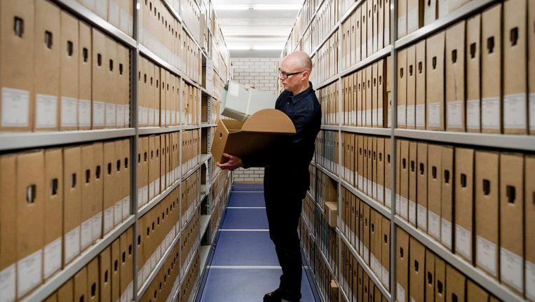 Het Nationaal Archief in Den Haag beschikt over enkele Surinaamse gerechtelijke stukken Beeld ANP