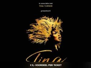 Vijf euro voordeel voor TINA - De Tina Turner Musical