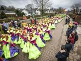 Jubilerende Köttelpeer'n pakken eerste prijs bij carnavalsoptocht Denekamp