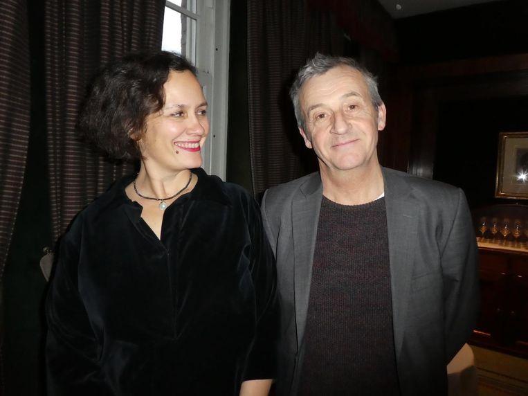 Uitgever Elik Lettinga en hoofdredacteur Peter Nijssen van de Arbeiderspers. Lettinga: