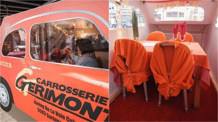 """L'idée originale du restaurant """"Les Amourettes""""."""