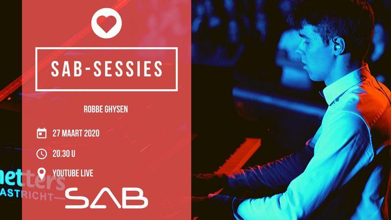 SAB-sessies met Robbe Ghysen.