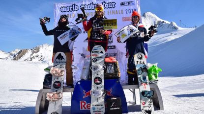Topsnowboardster Evy Poppe (15) wint nu ook World Rookie Tour Finals