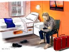 Dennis is een van de daklozen die een huis kreeg in coronatijd: 'Een gevoel dat mensen toch om mij geven'