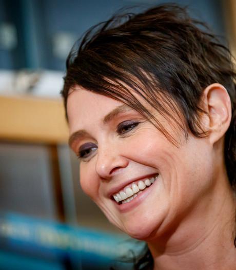 Schrijfster Griet Op de Beeck geeft lezing in Woerden