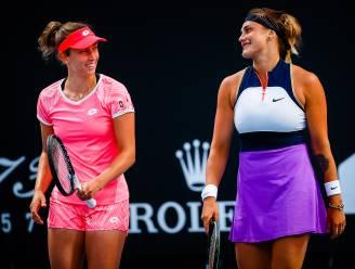 Ook in het dubbelspel blijft het lukken: Elise Mertens bereikt kwartfinales met Aryna Sabalenka