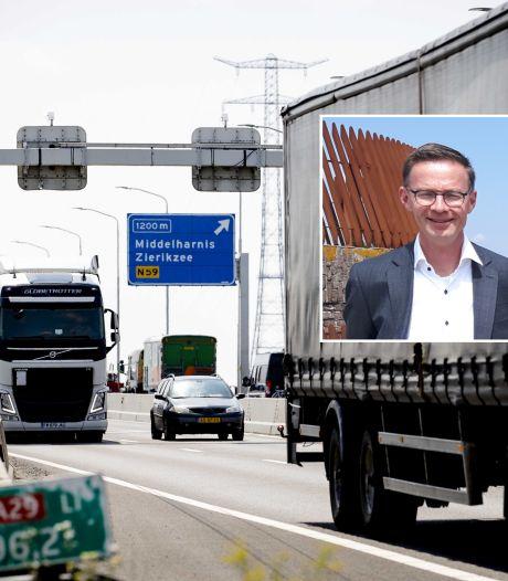 Afsluiting Haringvlietbrug uitgesteld: 'Nu hard werken om twee rijbanen open te houden'