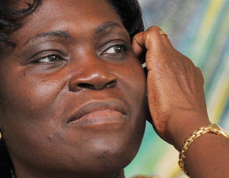 Simone Gbagbo. Beeld afp