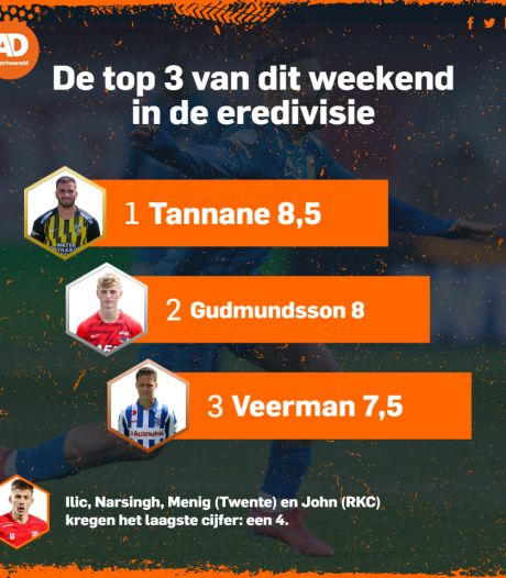 Tannane uitmuntend, Twente-trio in het rood
