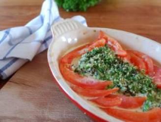Maak snel kabeljauw in de oven met kruidenkorst volgens recept van Piet Huysentruyt