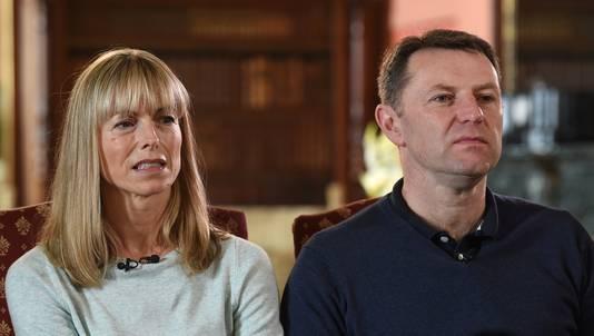 Kate en Gerry McCann in het BBC-interview dat zij gaven naar aanleiding van het feit dat hun dochter Madeleine McCann al tien jaar vermist is.