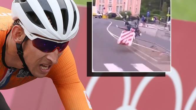 Mollema verlaat Ronde van Luxemburg na harde val, eindzege voor Almeida