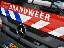 Gevel van woning in Hilversum stort gedeeltelijk in