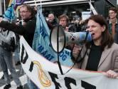 Klimaatrebel Tessel (46) uit Olst bezet de hele week Haagse kruispunten: 'Het is mijn morele plicht'