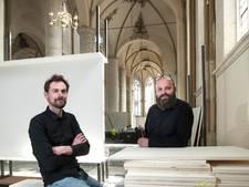 Ontwerpers Roofkunst zoeken balans tussen kerk en expositie