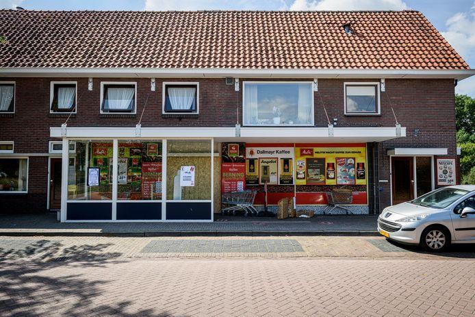 Supermarkt Berning mag vrijdagochtend weer open.