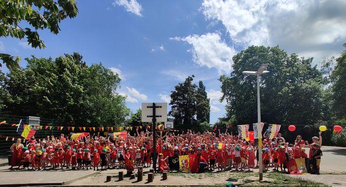 Brussel laadt zich op voor de tweede EK-wedstrijd van de Rode Duivels.