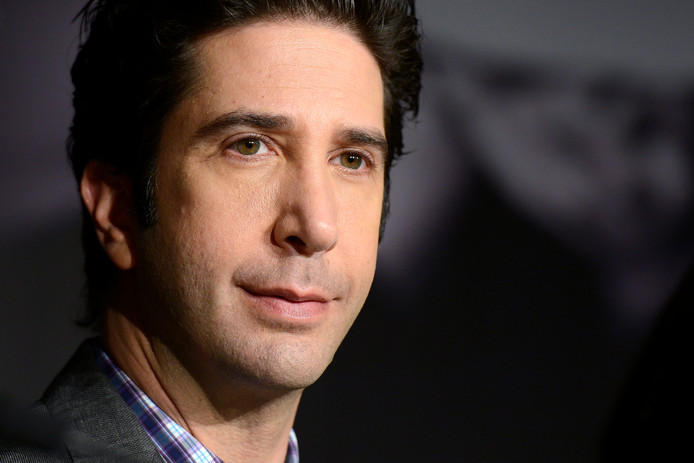 David Schwimmer speelde Ross in Friends.