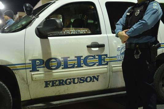 De politie in Ferguson ligt al langer onder vuur vanwege vermeend racistisch gedrag.