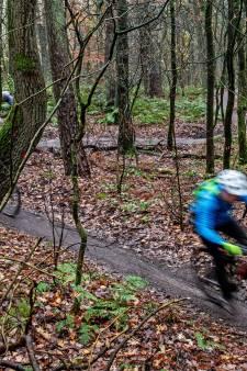Jacht op verboden mountainbikers op Jansberg: 14 bekeuringen