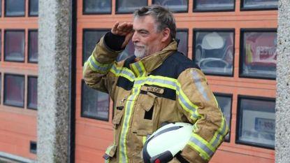 Eerste Ieperse beroepsbrandweerman Marc De Cat neemt afscheid van korps