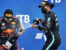 Dit is de WK-stand Formule 1: Hamilton met miniem verschil voor Verstappen