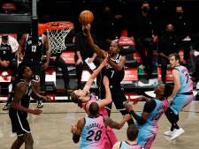 Supertrio weer op schot voor Brooklyn Nets in NBA
