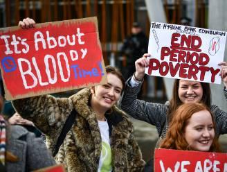 Schotland maakt als eerste land ter wereld maandverband en tampons gratis