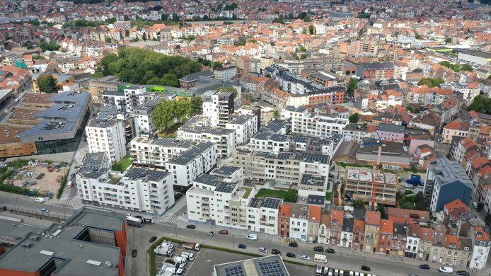 Tivoli-wijk in Laken.
