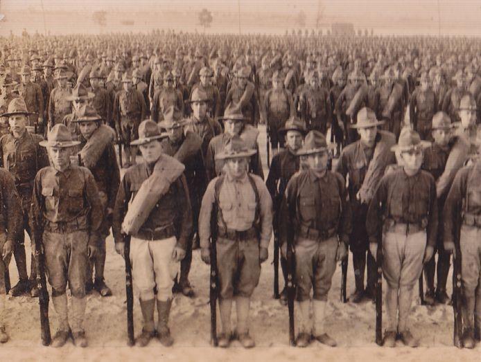 Amerikaanse rekruten, 1917-18