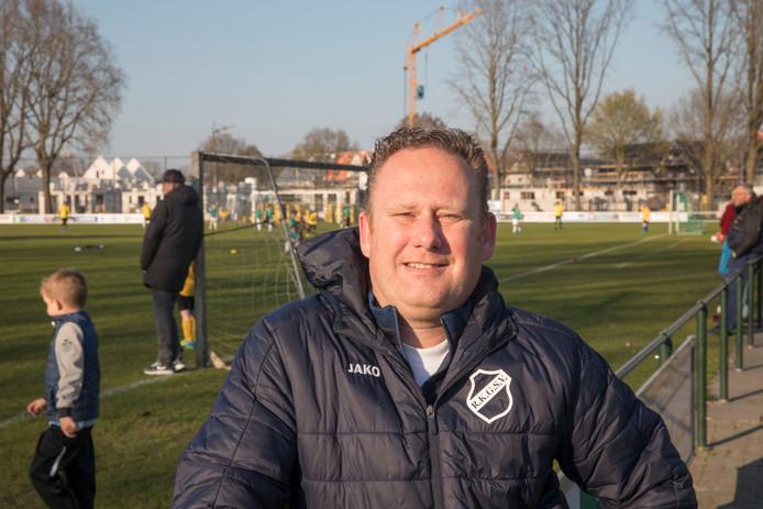 RKGSV-trainer Jeroen Vermaas heeft ambitieuze plannen met zijn ploeg in Gerwen.
