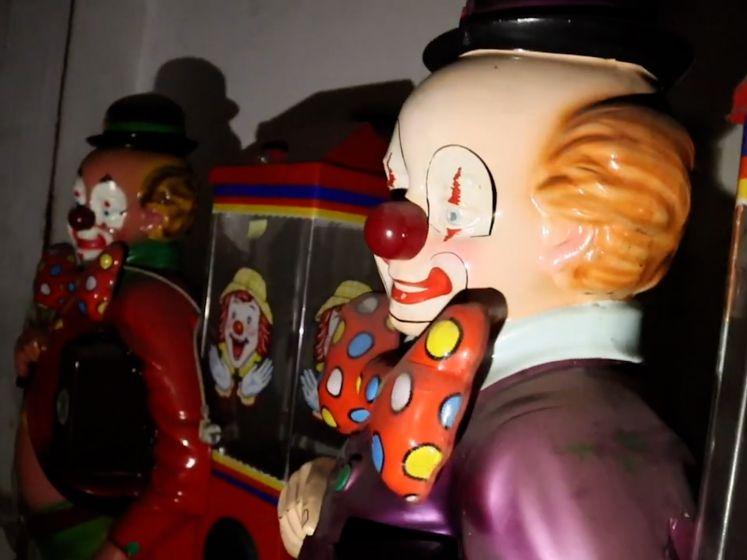 Luikse locatie met clowns lijkt op filmset van horrorfilm