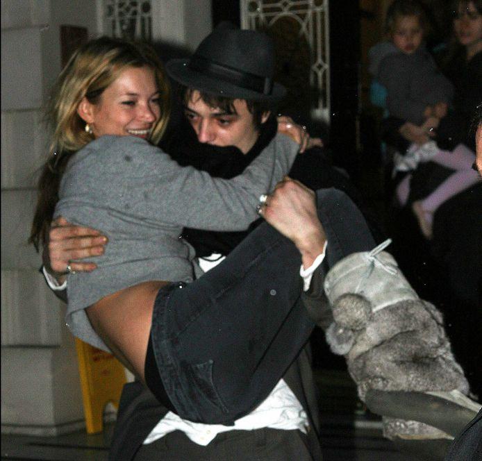 Kate Moss en Pete Doherty.