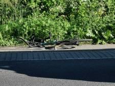Wielrenner gewond na botsing met scooter in Bennekom
