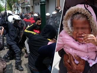 Politie zet traangas in aan Schaarbeekse school, burgemeester laat school rest van de week sluiten