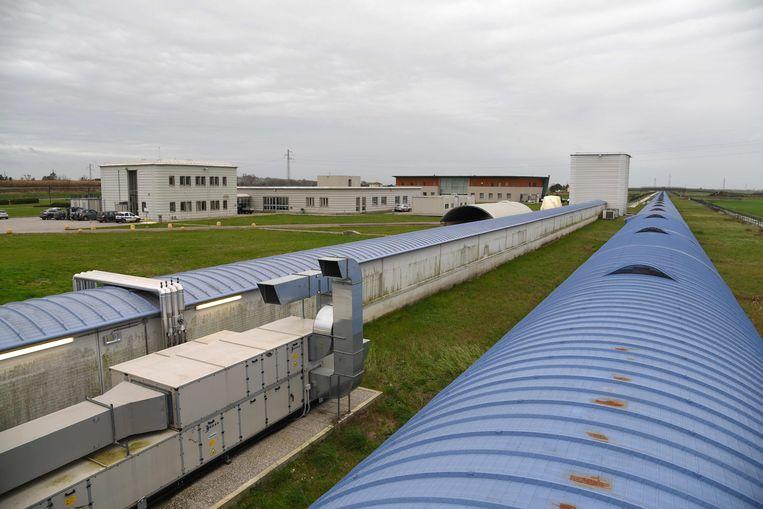 De Virgo-detector in Pisa. Beeld AFP