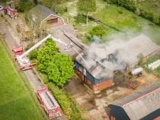 Wietkwekerij in brandende schuur Overberg