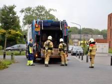 Mogelijk giftig gas vrijgekomen door afval in vuilniswagen: vier mensen raken onwel in Cuijk