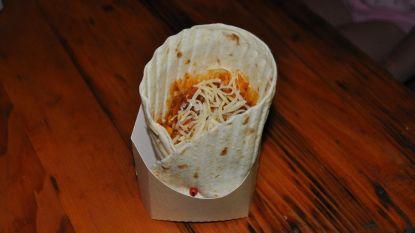 """Wrap chili con carne: """"Smakelijk, maar niet praktisch"""""""