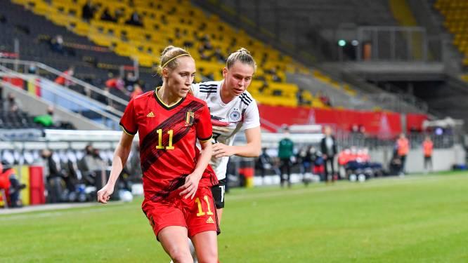 """Janice Cayman sluit seizoen af als recordinternational bij Red Flames, maar zonder collectieve prijs met Lyon: """"Nog meer zin om door te gaan"""""""