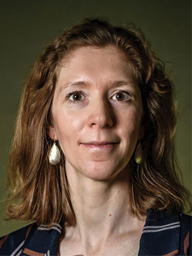 Isabelle Ryckaert: 'Het gaat om op de juiste leeftijd de juiste partner tegen te komen.' Beeld Geert Van de Velde