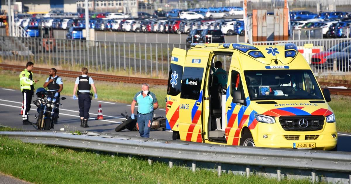 Motorrijder zwaargewond door ongeluk bij Ritthem.