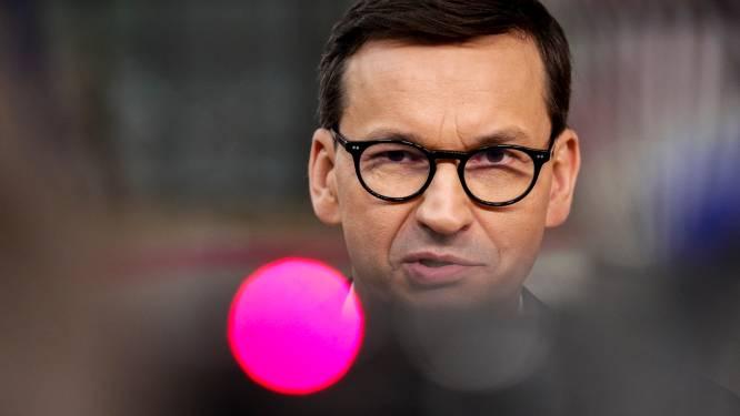 Poolse premier houdt poot stijf bij ruzie met EU, Merkel wil dialoog over oplossing