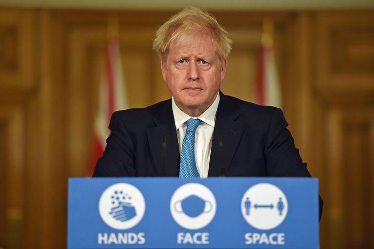 Boris Johnson. Beeld Photo News