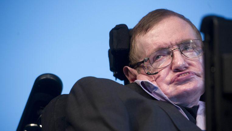 Stephen Hawking Beeld ANP